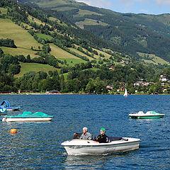 """photo """"On the lake. Austria."""""""