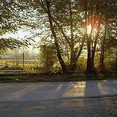"фото ""Осеннее утро в городе"""