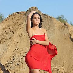 """фото """"красный платок"""""""