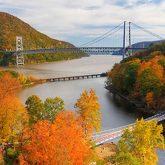 """фото """"Indian summer in Hudson river valley"""""""