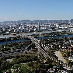 """фото """"Вена. Река Дунай."""""""