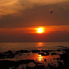 "photo ""Croatian sunset"""