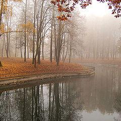 """фото """"Озеро  в  тумане"""""""