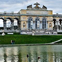"""фото """"Вена. Дворец на холме Глориетт"""""""