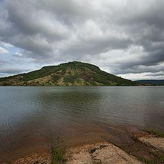 "photo ""Lac de Salagou"""