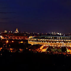 "photo ""Moscow panorama"""