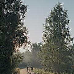 "фото ""Утро в парке"""