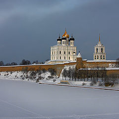 "photo ""On the winter. Ancient Pskov."""