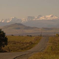 """фото """"дорога в горы"""""""
