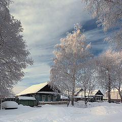 """фото """"Морозный полет облаков"""""""
