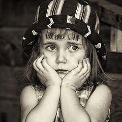 """фото """"Серьезная девушка"""""""