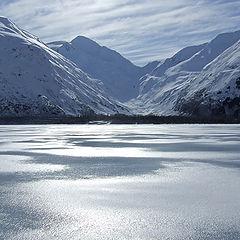 "photo ""Озеро ""Портидж"", Зимой"""