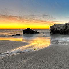 "photo ""Sunseth in Lofoten"""