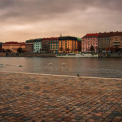 "фото ""Осенний вечер в Праге"""