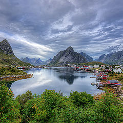 "photo ""Reine Lofoten...."""