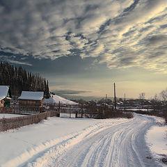 "фото ""Вечерняя дорога"""