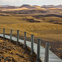 "фото ""Минсара. Большой кратер в Мицпе Рамон"""
