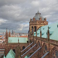 "фото ""Cathédrale de Strasbourg"""