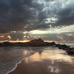 """фото """"Вечер на берегу океана"""""""