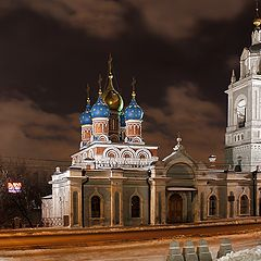 """photo """"Moscow at night."""""""
