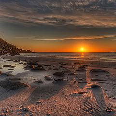 """photo """"Sunset in Lofoten"""""""