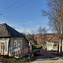 "photo ""Provincial small town"""