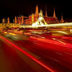 """photo """"The road to the Royal Palace"""""""