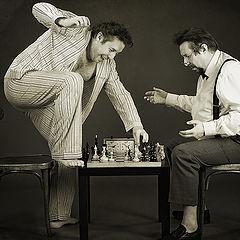 """фото """"Мат в три хода (Шахматная партия в палате №6)"""""""