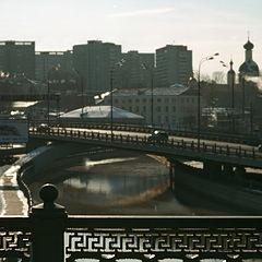 """фото """"Мосты над зимней Яузой"""""""
