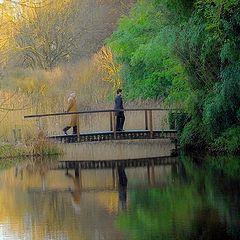 "фото ""quiet walk"""