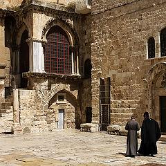 """фото """"Иерусалим. У Храма Гроба Господня."""""""