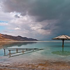 "photo ""Umbrellas Dead Sea"""