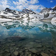 "фото ""Alpin glacial lake"""