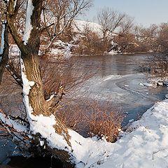 """фото """"Frozen river"""""""