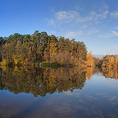 """photo """"Autumn panorama"""""""