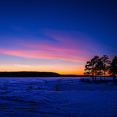 """фото """"Зимний закат"""""""