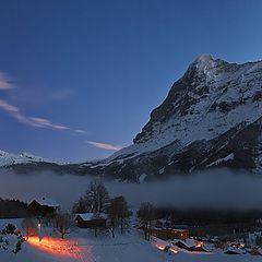 """фото """"Альпийское утро"""""""