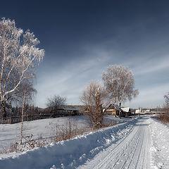 "фото ""Зимние линии"""