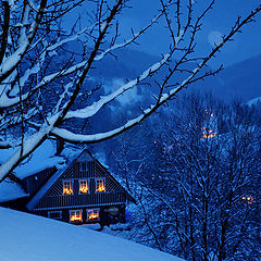 "фото ""Christmas evening.."""