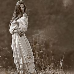 """photo """"Girl-Autumn"""""""