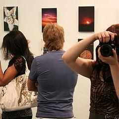 """photo """"At the exhibition / На выставке"""""""