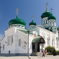 """photo """"Cathedral of the Trinity of the Alive beginning in Raifa"""""""