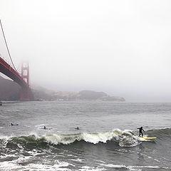 "photo ""Surfing in the mist"""