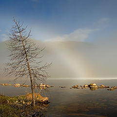 "photo ""The white rainbow of Ilchir"""