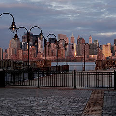 "фото ""Ferry terminal at Liberty State Park"""