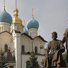 "photo ""Architects of the Kazan Kremlin"""