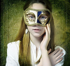 """photo """"Girl with the Mask"""""""