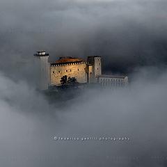 """photo """"Sunbeam on Castle"""""""