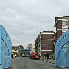 "фото ""Улица с воротами."""