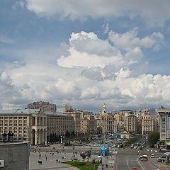 """фото """"Небо над Майданом"""""""